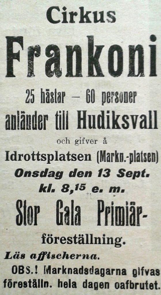 Franconi 1916